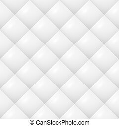 Quilted Pattern Vector. White Soft Neutral Background ...