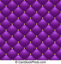 Quilted purple background