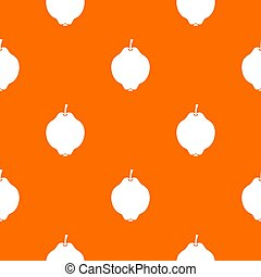 Quince fruit pattern seamless