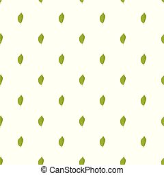Quince leaf pattern seamless in flat style for any design