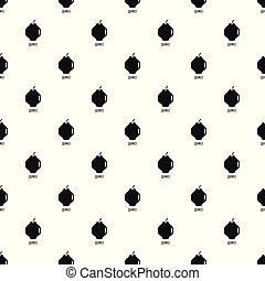 Quince pattern seamless vector repeat geometric for any web...