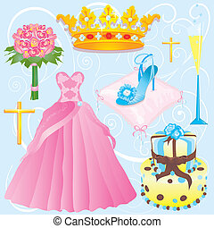 quinceanera, クリップアート