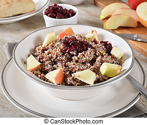 Quinoa Cranberry Apple Salad