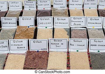 Quinoa,  Lima, tipos,  perú