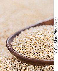 quinoa, uncooked
