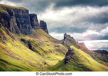 Quiraing Mountains
