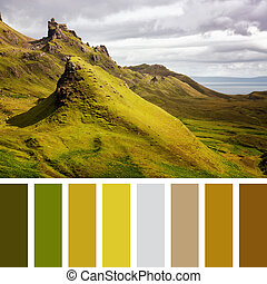 Quiraing palette