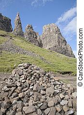 Quiraing; Trotternish; Isle of Skye; Scotland; UK