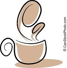 quirky, filiżanka do kawy