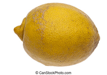 Quirky Lemon - A quirky lemon picked fresh in Florida. It...