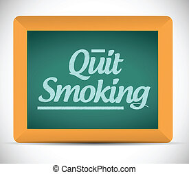 quit smoking message