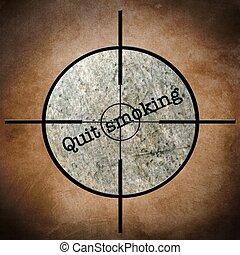 Quit smoking target