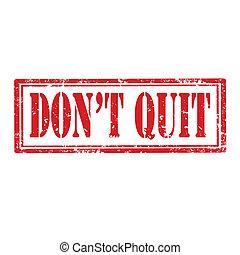 quit-stamp, faça