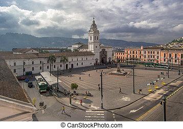 Quito,  De,  Domingo,  Santo,  IGLESIA,  Ecuador