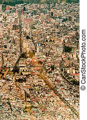 Quito Ecuador Capital City Buildings