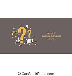 Quiz background.