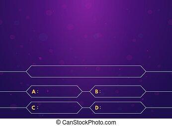 Quiz game background