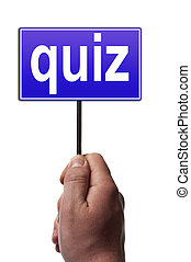 Quiz message