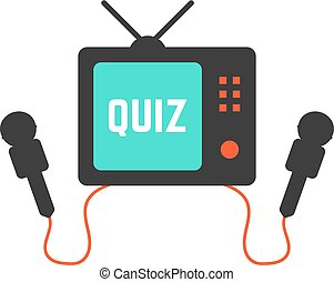 quiz on tv icon