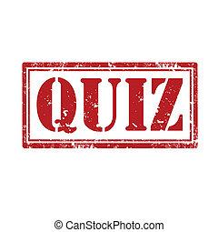 Quiz-stamp