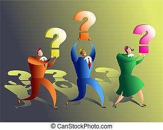 quiz team - questions questions questions