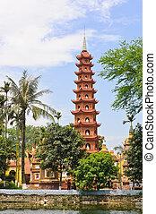 quoc, pagoda, tran