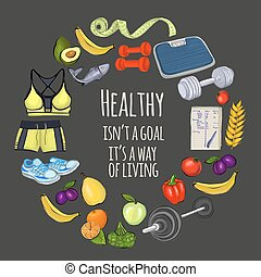 Quote about healthy lifestyle