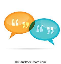 Quote Chat Bubbles