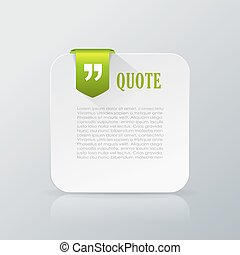 Quote info card