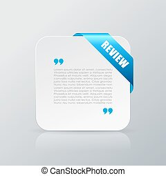 Quote review card