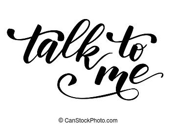 Quote talk to me