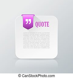 Quote text card