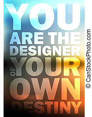 Quote Typographical Background, vector design