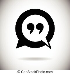 Quotes Icon Quotation Mark