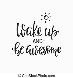 Quotes motivation for life and happiness morning - Lettering...