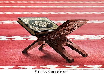 Quran holy book of muslims