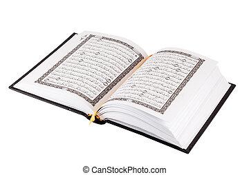 quran, książka, święty