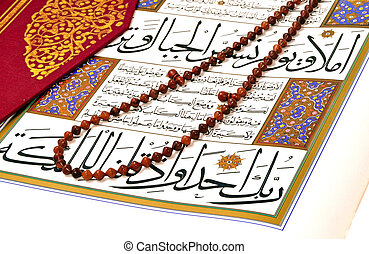 quran, sieczka, muslim, różaniec, święty