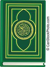 quran - Arab,muslim,in keffiyeh and traditional...