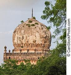 qutb, shahi, θάνατος , μέσα , hyderabad , ινδία