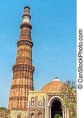 qutub, qutb, インド, minar, 複合センター, デリー, alai, darwaza