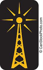 rádió, antenna