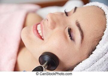 rádio, frequência, tratamentos beleza