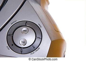 rádio, mini-system, reprodukce zvuku, hráč