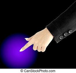 rámenős, kéz