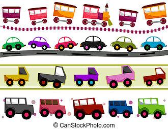 ränder, transport