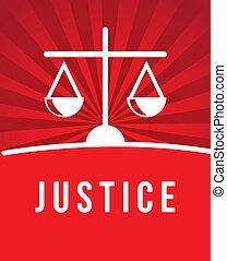 rättvisa, ikon