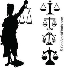 rättvisa, symbol