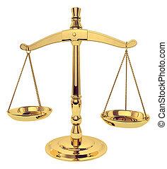 rättvishets skalor