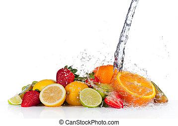 rå frukt